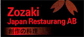 Japan restaurang Zozaki