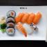 10. Mellan Sushi. 11 bitar