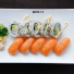 6. Cali Lax Sushi 10 bitar