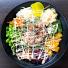 Poké Bowl med yakitori