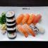 11. Stor Sushi. 13 bitar
