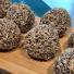Chokladboll med rostad kokos