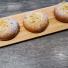 Äppel- och vaniljkrämsbulle
